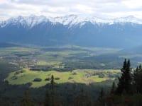 Blick über das Mieminger Plateau