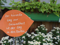 Gartenweisheit