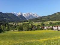 Ausblick Loferer Steinberge