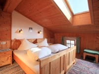 Schlafzimmer in der Fewo Dorfblick