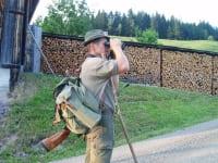 Sepp geht gerne zur Jagd