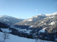 Winterausblick vom Hof nach Kelchsau