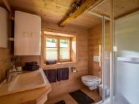 Badezimmer - der kleine Luxus auf der Alm