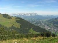Schöne Bergwelt  im Brixental