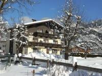 Haus Barbara an einen schönen Wintertag
