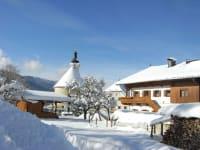 Ein romantischer Wintertag am Hofbauern Hof