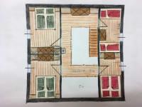 Raumplan Obergeschoss