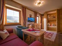Suite Kalkstein-Wohnraum mit Kinderkoje