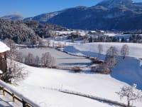 Winterlicher Ausblick zum Frauensee