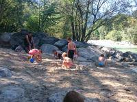 Brandenberger Ache- ein Paradies für Kinder