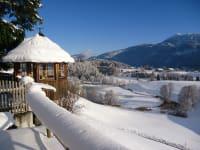 idyllische Winterlandschaft