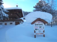 The Gasteighof in winter