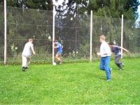 Die Jungs beim Fußballspiel