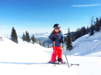 Skifahren im Ski Juwel
