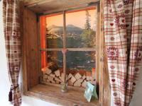 Fenster Gang Bild Alm