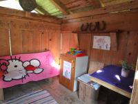 Spielhaus zum Sandgiftsuppe kochen