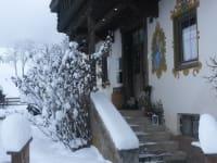 Hauseingang  Winter