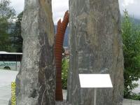Klamm am Eingang in Kundl