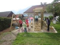 Das Spieleparadies im Garten