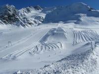 Bestens präparierte Pisten, erwarten Sie am Kaunertaler Gletscher!