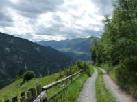 Wanderweg zur Alm