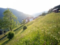 Biohof-Inntalblick inmitten von bunten Sommerwiesen der Lichteinfall eine eigene Stimmung