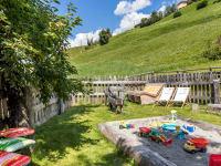 Am Wohlfühlplatz gibt es auch Spielmöglichkeiten, Biohof-Inntalblick