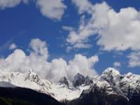 Wolkentürme über dem Kaunergrat