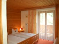 Gletscherblick (glacier view) bedroom