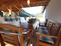 Terrasse FW Hannah: Sitzplatz