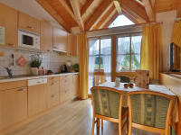 Ferienwohnung Enzian - Wohn-Essraum mit Küche