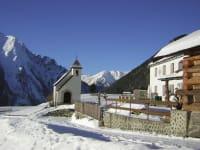Berggasthof Parditsch mit Kapelle