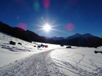 Winterstimmung in der Tschey