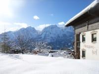 Winter am Straganzhof