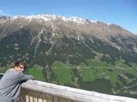View of the alpine pasture