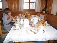 Frühstück in der Bauernstube