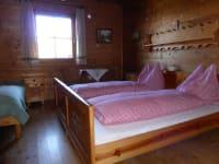 Doppelzimmer mit Zusatzbett Abendsonne