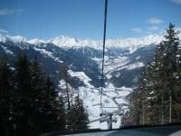Aussicht vom Lift Glockner-Ressort