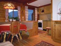 Wohnküche mit. Balkon