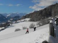 Schneeschuhwandern in Zedlach