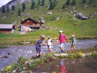 Spielen am Almbach