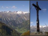 Die Aussicht  von unserem Hausberg (Berger Kogel-2650m)