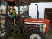 Den Traktor erkunden