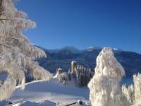 Burg Heinfels im Winter