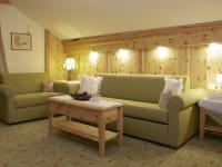 Wohnzimmer Ferienwohnung Schloßkopf