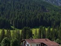 Blick von Oben auf unseren Berghof