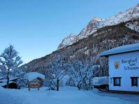 Berghof am Schwand im Winter