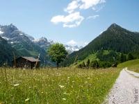 Hornbachtal mit Kanzberg