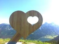 Herz im Tannheimer Tal