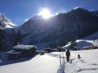 Winterwanderung ins Schwarzachtal